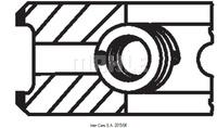 Комплект поршневых колец MAHLE 002 24 N2