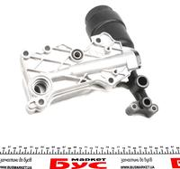 Масляный радиатор с корпусом фильтра Trucktec 02.18.141