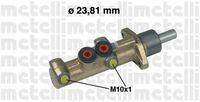 Главный тормозной цилиндр Metelli 05-0298