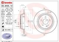 Тормозной диск Brembo 08.8405.10
