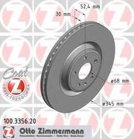 Тормозной диск Zimmermann 100.3356.20