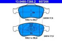 Комплект тормозных колодок ATE 13.0460-7266.2