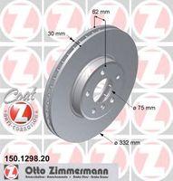Тормозной диск Zimmermann 150.1298.20