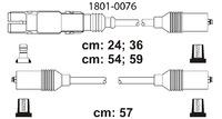 Комплект высоковольтных проводов Profit 1801-0076