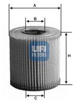 Масляный фильтр UFI 25.013.00