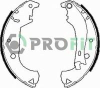 Комплект барабанных колодок PROFIT 5001-0604