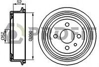 Тормозной барабан Profit 5020-0013