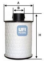 Топливный фильтр UFI 60.H2O.00