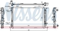 Радиатор охлаждения Nissens 60321