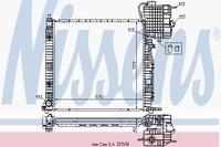 Основной радиатор (двигателя) NISSENS 62561A