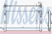 Основной радиатор (двигателя) NISSENS 628952