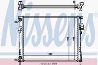 Основной радиатор (двигателя) NISSENS 63025A
