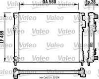 Основной радиатор (двигателя) Valeo 732846