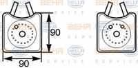 Масляный радиатор Hella 8MO376 778-001