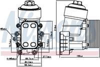 Масляный радиатор Nissens 91158