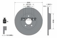 Тормозной диск TEXTAR 92160103
