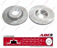 Тормозной диск ABE C30003ABE