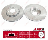 Тормозной диск ABE C31097ABE