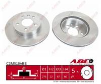 Тормозной диск ABE C3M015ABE