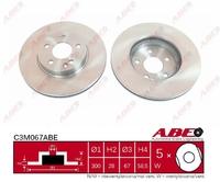 Тормозной диск ABE C3M067ABE