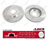 Тормозной диск ABE C3X031ABE