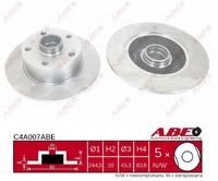 Тормозной диск ABE C4A007ABE