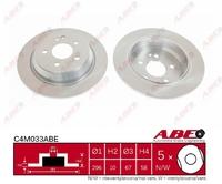 Тормозной диск ABE C4M033ABE