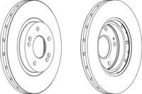 Тормозной диск Ferodo DDF1292