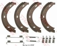 Барабанные тормозные колодки TRW GS8688