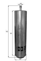 Топливный фильтр Knecht KL 169/4D
