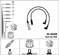 Комплект высоковольтных проводов NGK RC-AD209 0509