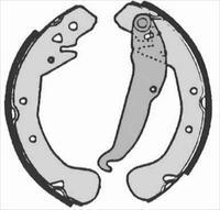 Барабанные тормозные колодки STARLINE S BC 07200