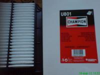 Воздушный фильтр Champion U801