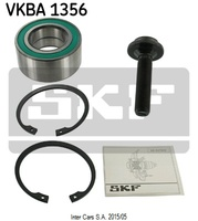 Комплект подшипников колеса SKF VKBA 1356