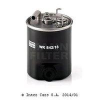Топливный фильтр MANN WK 842/18