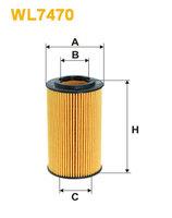 Масляный фильтр WIX WL7470