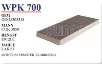 Фильтр салона Wunder WPK-700